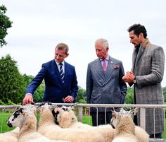 "Clarence House on Twitter: ""The Prince, @DGandyOfficial, and @marksandspencer's…"