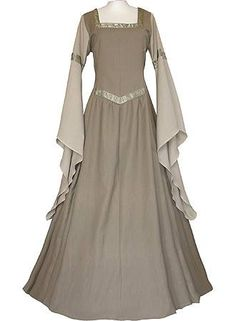 Today's gown/dress is a Medieval reproduction designed by Dornbluth of Germany Credit and many thanks to them