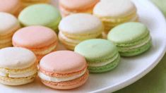 French sandwich cookies, known as macarons, need a great filling to set them apart. Here's a recipe we know that you'll be able to make easily for filling these delicate cookies. Martha Stewart Macarons, Martha Stewart Recipes, French Macarons Recipe, French Macaroons, Fool Proof Macaron Recipe, Food Network Recipes, Food Processor Recipes, Macaroon Filling, French Sandwich