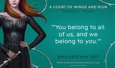 Are the High Lords speaking to Feyre?     THE WORLD OF SARAH J. MAAS : Photo
