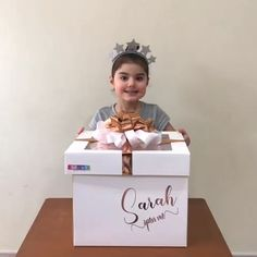 Personalised gift balloon boxes Contact us for our mini and jumbo surprise balloon box gifts Diy Birthday Box, Cute Birthday Gift, Bff Birthday, Birthday Gifts For Best Friend, Diy Gifts For Friends, Surprise Birthday Parties, Ideas For Birthday Gifts, Cute Best Friend Gifts, Birthday Surprises