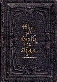 画像1: アンティーク洋書★ プロテスタント 賛美歌集 いと高きところ神に栄光あれ 1909年
