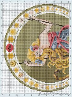 Solo Patrones Punto Cruz (pág. 469) | Aprender manualidades es facilisimo.com Cross Stitch Charts, Cross Stitch Designs, Signes Zodiac, Zodiac Signs, Kids Rugs, Crafts, Art Deco, Paris, Patterns