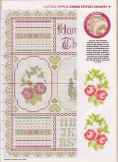 Gallery.ru / Фото #4 - The world of cross stitching 045 май 2001 - WhiteAngel