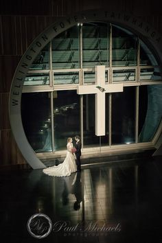 Evening at tepapa museum. New Zealand #wedding #photography. PaulMichaels of Wellington http://www.paulmichaels.co.nz/