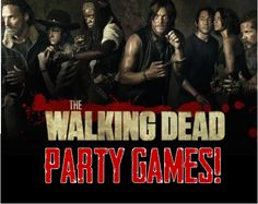 The perfect Walking Dead party games to bring your WD bash back from the dead!