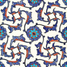 Nicholas Riley Iznik Tile Isnik Tile Artist Nicholas Riley produces stunning reproductions of De Morgan and Iznik designs. Each tile is a hand painted one off and takes Nicholas several weeks of research and experimentation with glazes and colours to produce. Whilst we call these tiles reproductions they are the artist's interpretation of the source material, rather than a facsimile. Dimensions: 20.6cm x 20.6cm