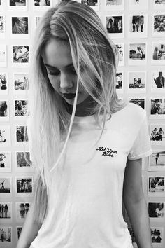 Brandy ♥ Melville | Margie Not Your Babe Embroidery Top - Graphics
