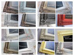 White Framed Large ESCORT CARD HOLDER Chalkboard by RevivedVintage, $249.00