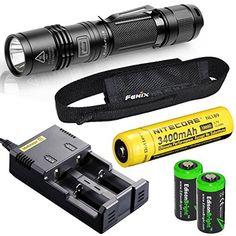 Fenix PD35 960 Lumen 2014 Edition CREE XM-L2 U2 LED Tactical Flashlight with Nitecore NL189 18650 3400mAh Li-ion rechargeable battery, Nitecore i2 2014 version intelligent Charger and 2 X EdisonBright CR123A Lithium batteries package Fenix  $99.95 on Amazon as of 12/9/14 http://www.amazon.com/dp/B00ELPDNZY/ref=cm_sw_r_pi_dp_L119tb1KA40ZG