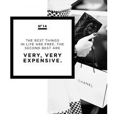 The Coco Chanel Style Rules To Live By featuring polyvore text backgrounds fillers magazine quotes article phrase saying