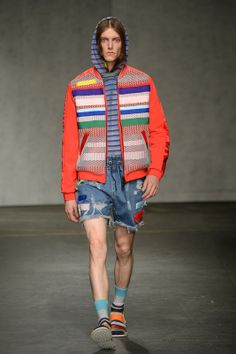 James Long SS15 grunge is back again!