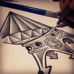desenho de diamante - Pesquisa Google