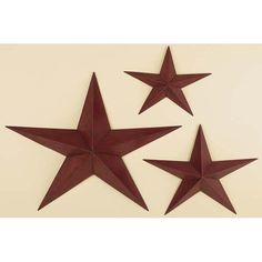 Tin Star Wall Decor | Decorative Metal Wall Art