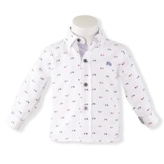 Camasa bebe baiat alb Miranda Little Rose, Shirt Dress, Mens Tops, Shirts, Dresses, Women, Fashion, Moda, Shirtdress