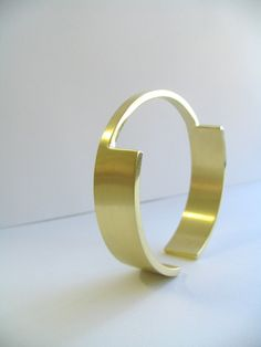 Narrow Solid Bronze Cuff Bracelet by touchthedutch on Etsy, $150.00
