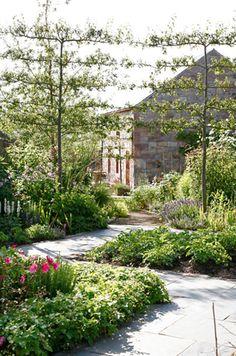 Garden Designer Justin Spink Cottage Farmhouse in Cheviots
