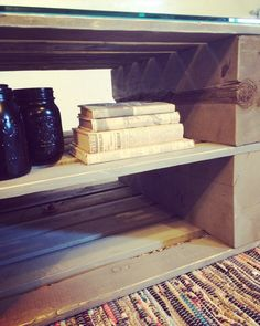 Table basse fait à partir de palette en bois!