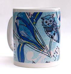 A great Kappa Kappa Gamma mug, comes in a box filled with zebra tissue paper. The perfect sorority gift by Greek Zebra - www.GreekZebra.com!