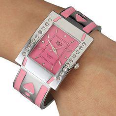 Kwarts Armbandhorloge - voor Dames - – EUR € 9.59