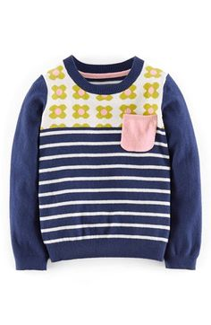 Mini Boden 'Sweet' Scalloped Knit Sweater (Toddler Girls, Little Girls & Big Girls) available at #Nordstrom