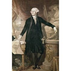 George Washington Jose Perovani (ca 1765-1835 Spanish) Canvas Art - Jose Perovani (18 x 24)