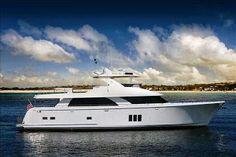 Luxury Boats: Ocean Alexander 85 Motoryacht aerial video