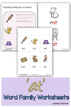 ick word family worksheets for kindergarten the moffatt girls cvcc word family work ig. Black Bedroom Furniture Sets. Home Design Ideas