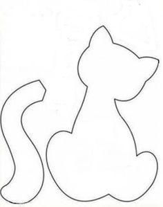 molde almofada de gato