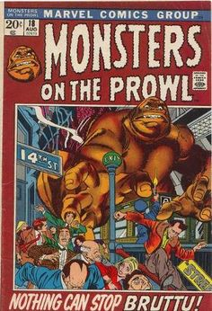 Monsters on the Prowl #18