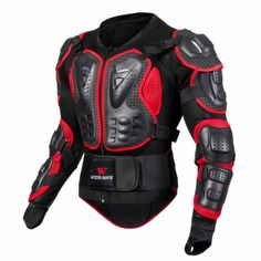 Motorcycle Cycling Armor Motocross Jacket Protector Chest Back Protective Safety Gear Motocross Armor, Motorcycle Gear, Motorbike Jackets, Armadura Cosplay, Moto Cross, Body Armor, Extreme Sports, Cross Country, Gears