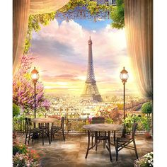 Eiffel Tower - Full Square Diamond Painting(40*50cm) – shopanydeals Your Paintings, Landscape Paintings, Paint By Number Diy, Acrylic Paint Set, Diamond Paint, Paris City, Easy Drawings, Diy Painting, Nice View