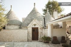Stay at unique digs when traveling. Check out Airbnb's list featuring this trulli and villa in Putignano, Italy.