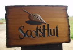Scot's Hut House Sign / Danthonia Designs