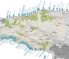 Rethymnon beaches - Travel Guide for Island Crete, Greece Santorini, Mykonos Greece, Crete Greece, Athens Greece, Crete Island, Greece Islands, Beach Trip, Vacation Trips, Crete Rethymnon