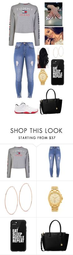 """""""Untitled #509"""" by brie-karitsa-luciano on Polyvore featuring Tommy Hilfiger, Lipsy, Michael Kors and Casetify"""