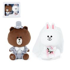 """Tracking No LINE FRIENDS NEW YORK Edition Hoodie Cony 28cm 11/"""" Toy Plush Doll"""