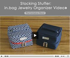 in.bag Jewelry Organizer Video