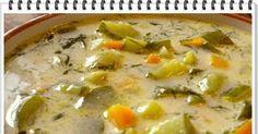 Zupa z zielonych ogórków Eli. Kość umyć,zalać wodą (około 4 litry),dodać ziele angielskie,liście laurowe,przyprawę... Sprawdź!