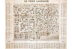 Historic Cemetery Le Père Lachaise