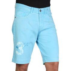 La Martina HMB302TW25 Men's Bermuda Shorts, Light Blue