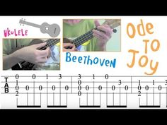 Ode to Joy (Symphony No.9) /Beethoven (Ukulele) 歡樂頌 /貝多芬 (烏克麗麗) - YouTube