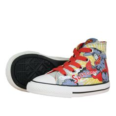 55b9cc507a4b Converse CT Hi 732441C Infant Trainers Blue Red White available at  www.hypedirect.com  comics  comicbook  ironman  marvel  marvelcomics   kidsshoes  kids   ...