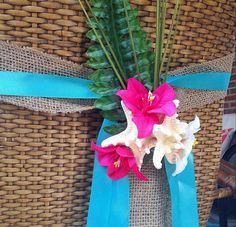 Starfish Aisle Markers Chair Markers Beach by UrbanElementsDesign