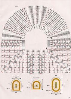 graficos de croche tampa do vaso