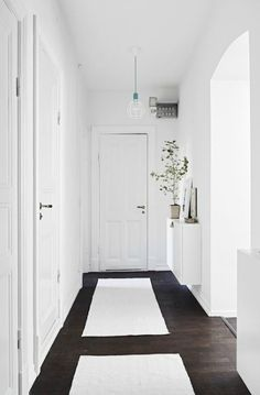 blanco pasillo