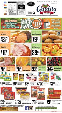 Quality Market Weekly Ad November 9 - 15, 2016 - http://www.olcatalog.com/quality-market/quality-market-weekly-ad.html