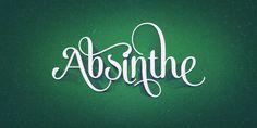 Alek Typeface by Emil Bertell, via Behance