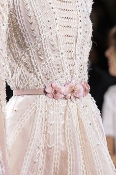London. Add a ribbon that you DIY with flowers and tie at waist for the feeling of this look.