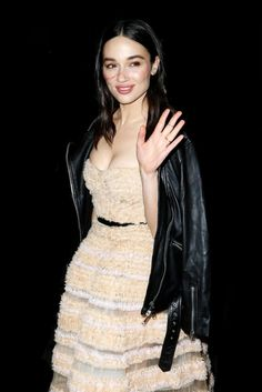 Crystal Reed attends the 45th International Emmy Awards in New York City (11.20)